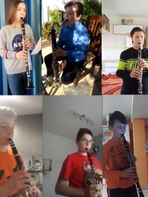 Señorita  – ansambl klarineta